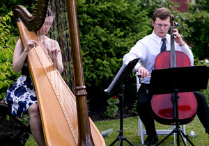 harp and cello duo